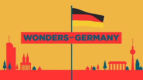 Movult Motion Graphics - Wonders of Germany